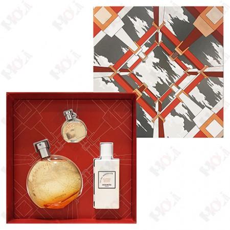 100-1990 Hermes Eau des Merveilles 愛馬仕 橘采星光女性淡香水禮盒 (淡香水100ml + 淡香水7.5ml + 身體乳80ml)