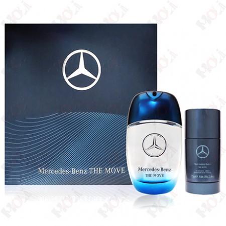 159-1019 Mercedes Benz The Move 賓士恆動之星男性淡香水禮盒(淡香水100ml+體香膏75g)