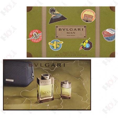 307-2271 Bvlgari Man Wood Neroli 寶格麗森林之光男性淡香精禮盒(淡香精100ml+淡香精15ml+手拿包)