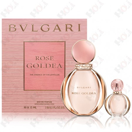 307-2356 BVLGARI Rose Goldea 寶格麗 玫瑰金漾女性淡香精禮盒(淡香精90ml+淡香精15ml)