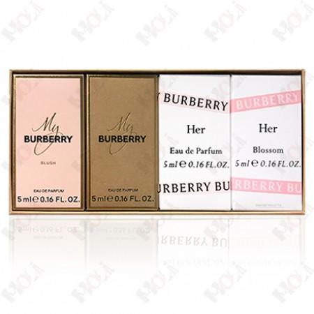 310-1117 Burberry 女性香氛小香禮盒 四款 x 5ml