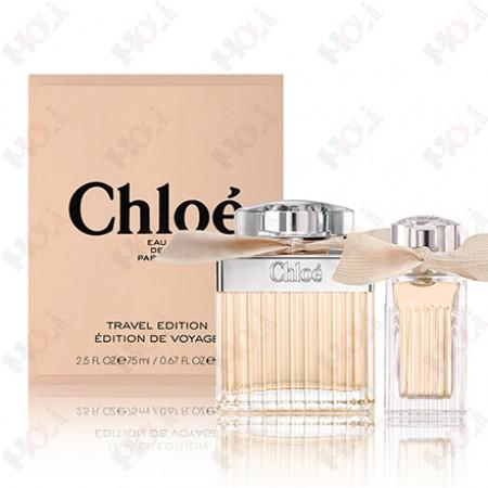 361-572【送~同品牌紙袋】Chloe 同名女性淡香精禮盒 (同名淡香精75ml+小小淡香精20ml)