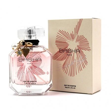 389-165 BASHA巴莎 耀眼珊瑚女性淡香精 50ml 送~隨機品牌針管香水