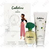 100-1037 Gres Cabotine 清秀佳人女性淡香水禮盒(淡香水100ml+身體乳200ml)