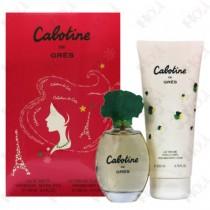100-1037 Gres Cabotine 清秀佳人女性香水禮盒 (淡香水100ml+身體乳200ml)