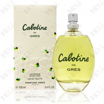 100-207【TESTER包裝】Gres Cabotine 清秀佳人女性淡香水 100ml ~環保式外盒,沒蓋子