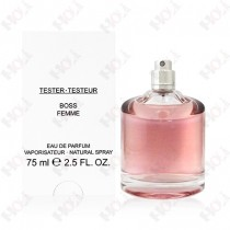 101-343【TESTER包裝】Boss Femme 光采女人女性淡香精 75ml ~環保式外盒,沒蓋子