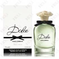 111-739【TESTER包裝】Dolce & Gabbana D&G Dolce 甜蜜女性淡香精 75ml ~ 環保式外盒、有蓋子