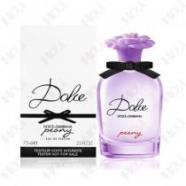 111-890【TESTER包裝】Dolce & Gabbana D&G Peony 浪漫花園女性淡香精 75ml ~環保式外盒、有蓋子