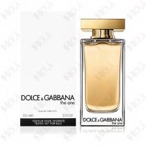 111-975【TESTER包裝】Dolce & Gabbana The One D&G 唯我 女性淡香水 100ml ~環保式外盒、有蓋子