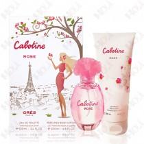 118-5065 Gres Cabotine Rose 粉紅佳人女性淡香水禮盒 (淡香水100ml、身體乳200ml)