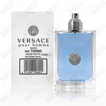 150-141【TESTER包裝】Versace Pour Homme 凡賽斯經典男性淡香水 100ml~環保式外盒,沒蓋子