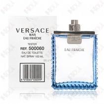150-172【TESTER包裝】Versace Man Eau Fraiche 凡賽斯 雲淡風輕男性淡香水 100ml ~環保式外盒,沒有蓋子