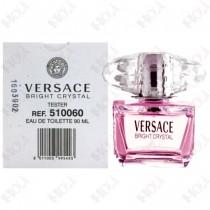 150-660【TESTER包裝】Versace Bright Crystal 凡賽斯 香戀水晶女性淡香水 90ml ~環保式外盒、有蓋子