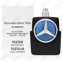159-838【TESTER包裝】Mercedes Benz Man 賓士 王者之星男性淡香水 100ml ~環保式外盒,沒有蓋子