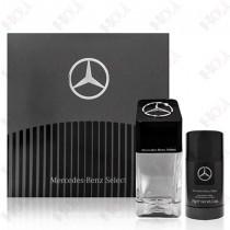 159-968 Mercedes Benz Select 賓士 帝耀非凡男性淡香水禮盒 (淡香水100ml+體香膏75g)