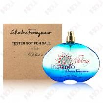 198-3227【TESTER包裝】Salvatore Ferragamo Incanto charms 甜心魔力女性淡香水100ml  ~環保式外盒、沒有蓋子