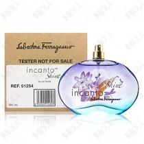 198-691【TESTER包裝】Salvatore Ferragamo Incanto Shine 閃耀光采女性淡香水 100ml ~環保式外盒、沒有蓋子