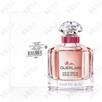 206-1863【TESTER包裝】Mon Guerlain Bloom of Rose 嬌蘭我的印記玫瑰女性淡香精 100ml ~ 環保式外盒,有蓋子