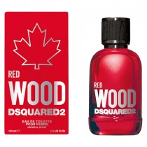 30027-226 DSQUARED2 RED WOOD 心動紅女性淡香水 100ml 送~隨機品牌針管香水
