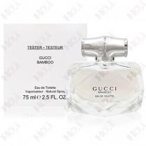 302-1279【TESTER包裝】Gucci Bamboo 竹棻女性淡香水 75ml ~環保式外盒,有蓋子