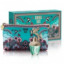 306-1855 Anna Sui Fantasia Mermaid 安娜蘇 童話美人魚禮盒 (淡香水30ml+愛情鳥化妝包)