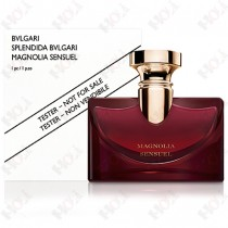 307-1854【TESTER包裝】Splendida Bvlgari Magnolia Sensuel 寶格麗 醉美蘭香女性淡香精 100ml ~環保式外盒、有蓋子