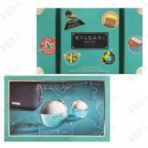 307-2158 Bvlgari Aqva Marine 寶格麗 活力海洋能量男性淡香水禮盒(淡香水100ml+淡香水15ml+手拿包)