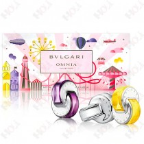307-2257 Bvlgari Omnia 寶格麗 2020 晶彩系列隨行香氛組(紫水晶 15ml、白水晶/晶澈 15ml、晶耀 15ml)