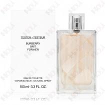310-1100【TESTER包裝】Burberry Brit 風格女性淡香水 100ml ~環保式外盒,有蓋子