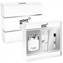 313-698 Mont Blanc Legend Spirit 萬寶龍 傳奇白朗峰男性淡香水禮盒  (淡香水100ml+鬍後乳100ml+香水筆7.5ml)