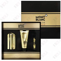 313-728-2 Mont Blanc Emblem Absolu 萬寶龍至尊之星男性淡香水禮盒(淡香水100ml+沐浴精100ml+隨身香水7.5ml)