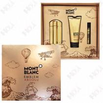 313-728-1 Mont Blanc Emblem Absolu 萬寶龍至尊之星男性淡香水禮盒(淡香水100ml+沐浴精100ml+隨身香水7.5ml)