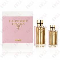 317-1011 La Femme Prada 纓粉淑女女性淡香水禮盒(淡香水100ml+淡香水35ml)