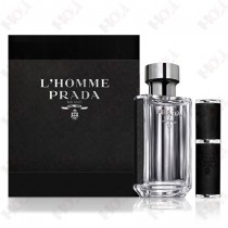 317-762 Prada L'Homme 男性淡香水禮盒(淡香水100ml + 隨行香水8ml)