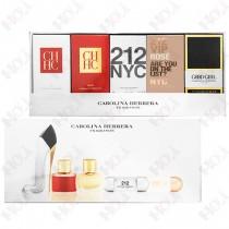326-432 Carolina Herrera 經典女性小香禮盒五入組(CH 8ml+唯我5ml+212 都會5ml+212 VIP粉紅香檳5ml+高跟鞋7ml)