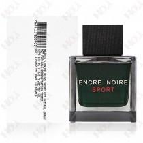 327-202【TESTER包裝】Lalique Encre Noire Sport 萊儷 黑澤運動男性淡香水100ml ~ 環保式外盒、有蓋子