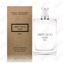 330-213【TESTER包裝】JIMMY CHOO MAN ICE 冷冽男性淡香水 100ml ~環保式外盒,有蓋子