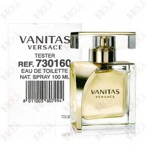 337-483【TESTER包裝】Versace Vanitas 凡賽斯 香遇浮華女性淡香水 100ml~環保式外盒,有蓋子