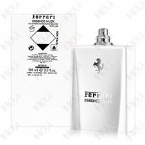 338-123【TESTER包裝】Ferrari Essence Musk 法拉利 白麝香男性淡香精 100ml ~環保式外盒,無蓋