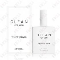 343-64 CLEAN WHITE VETIVER 白色香根草男性淡香水 100ml  送~隨機試用針管香水