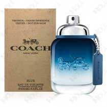 346-566【TESTER包裝】Coach Blue 時尚藍調男性淡香水100ml ~環保式外盒