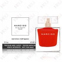 356-365【TESTER包裝】Narciso Rodriguez 炙熱情蜜女性淡香水 90ml ~環保式外盒,有蓋子