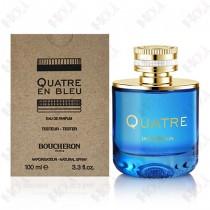 364-159【TESTER 包裝】Boucheron Quatre En Bleu 伯瓊 蔚藍環戒女性淡香精 100ml - 環保式外盒、有瓶蓋