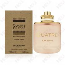 364-36【TESTER包裝】BOUCHERON Quatre En Rose 伯瓊 環戒玫瑰之戀女性淡香精100ml - 環保式外盒、有瓶蓋