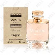 364-50【TESTER包裝】BOUCHERON Quatre For Women 伯瓊經典環戒女性淡香精100ml - 環保式外盒、有瓶蓋