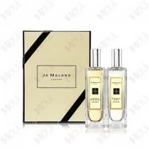 386-76【即期出清 效期2022.1】Jo Malone 二件組香水禮盒 30ml x 2款(青檸羅勒與柑橘 30ml+黑莓與月桂葉30ml)