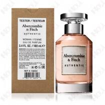 397-195【TESTER包裝】Abercrombie & Fitch A&F Authentic 真我女性淡香精 100ml ~環保式外盒、有蓋子