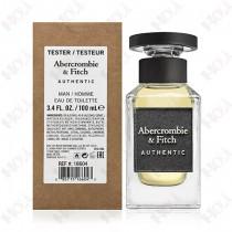 397-201 【TESTER包裝】Abercrombie & Fitch A&F Authentic 真我男性淡香水 100ml ~環保式外盒、有蓋子