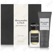 397-294 Abercrombie & Fitch A&F Authentic 真我男性淡香水禮盒 (淡香水50ml+沐浴精200ml)